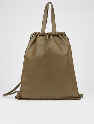 Roo nappa leather rucksack bag