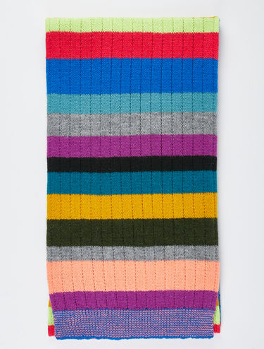 Sciarpa a righe multicolor