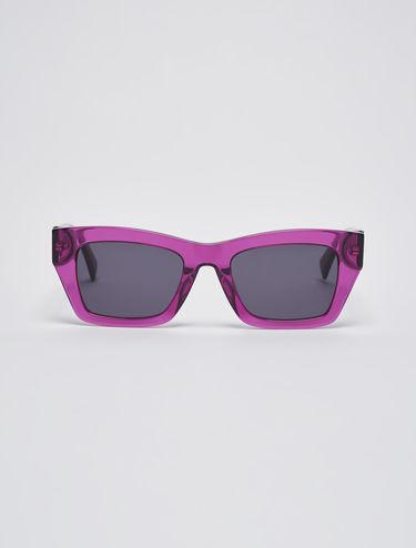 Trapezförmige Sonnenbrille