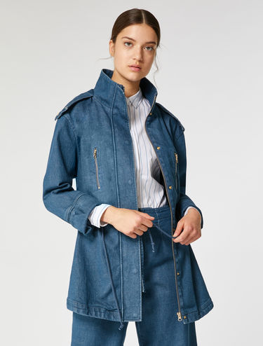 Parka de denim