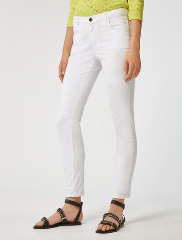 Pantalon en gabardine coupe skinny