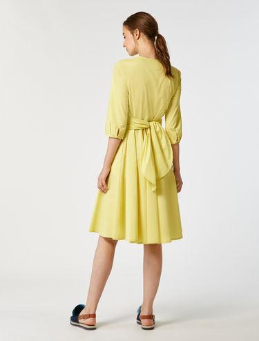 コットン ポプリン ドレス