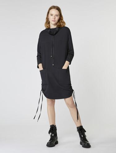 Sweatshirtkleid aus Fleece