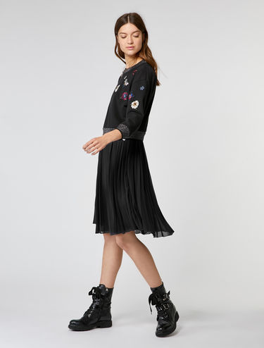 2-in-1 dress with matching sweatshirt
