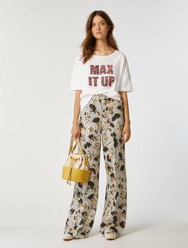 Oversized print T-shirt