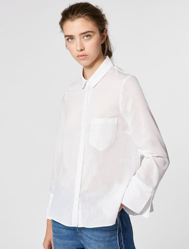 Boxy fit shirt