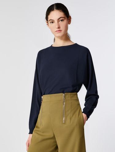 Pullover in Rautenform