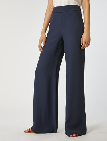 Floaty satin palazzo trousers