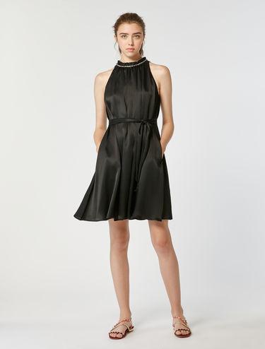 Crépon A-line dress