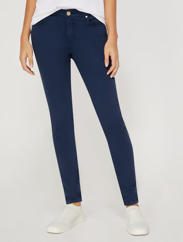 Stretch cotton skinny jeans
