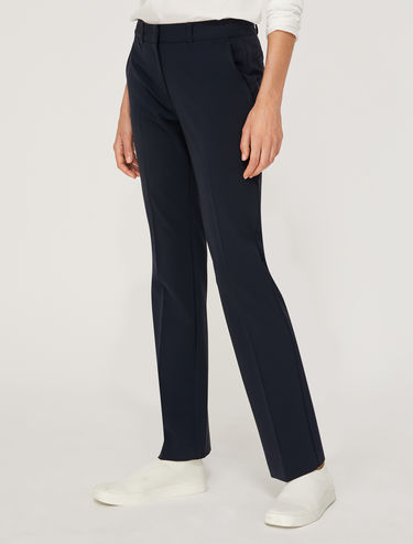 Pantalon droit stretch