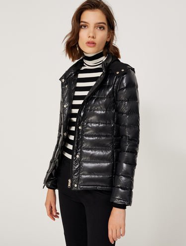 Two-in-one down jacket