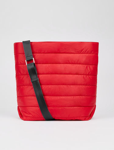 Padded nylon bag