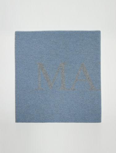 Maxi scarf with maxi logo