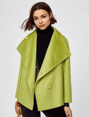 Pure wool peacoat