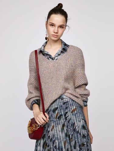 Pull in lana d'alpaca e lurex