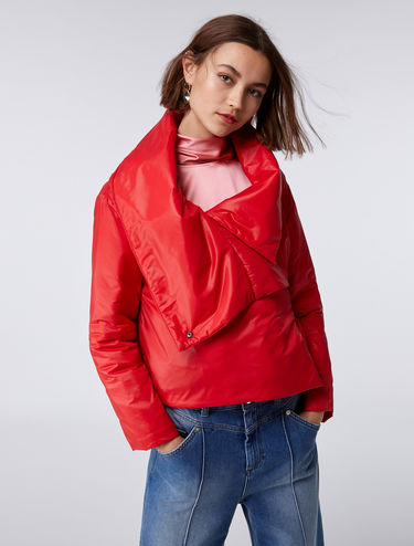 Cropped padded jacket