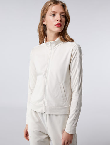 Zip-up sweatshirt