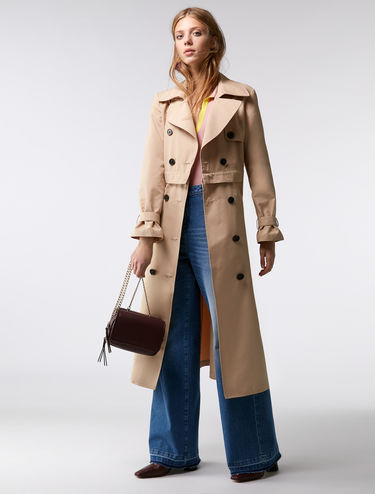 3-in-1 maxi trench coat