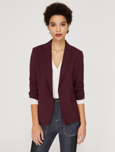 Blazer di lana bistretch