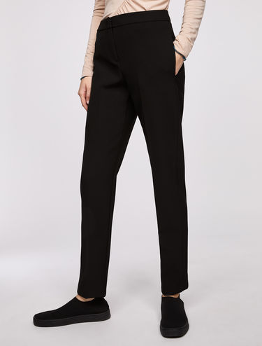 Slim fit double stretch trousers