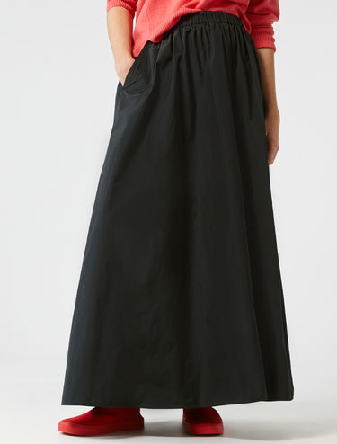Corolla maxi skirt in taffeta