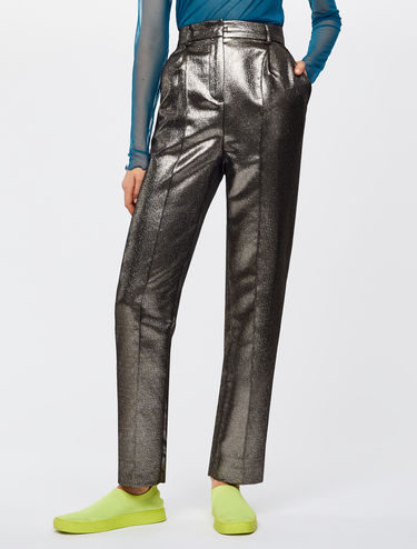 Lamé trousers