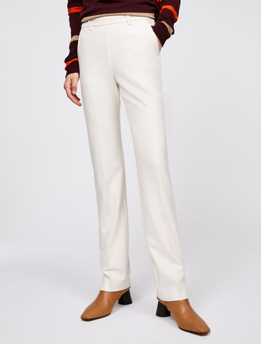 Slim fit stretch trousers