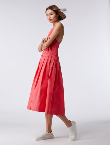 Corolla taffeta dress