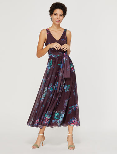 Jersey corolla maxi dress