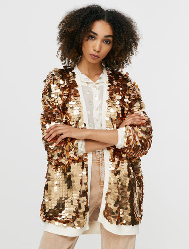 Sequin cardigan jacket