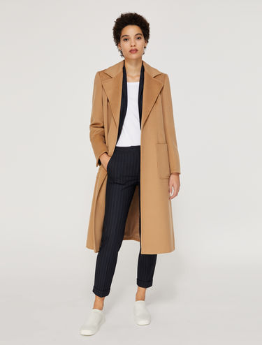 Runaway coat in wool