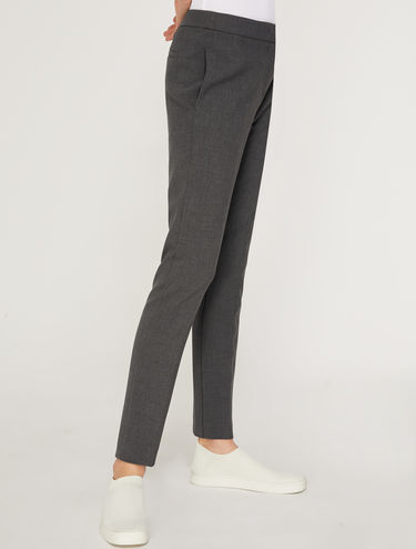 Pantalon coupe slim bi-extensible