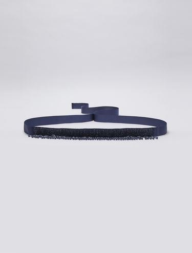 Belt with bijoux embellishments