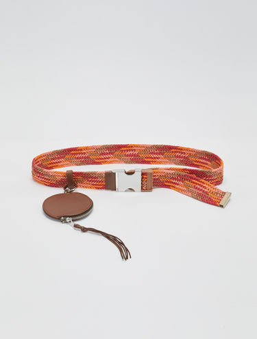 Woven cotton belt