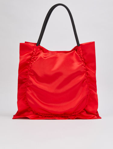 Satin shopper