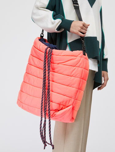 Reversible neon Pillow Bag
