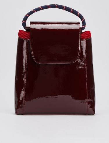 Backpack with detachable shopper