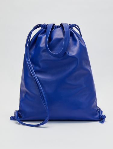 ROO rucksack shopper in nappa leather
