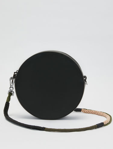 Dot Bag with chain shoulder strap