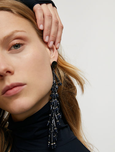 Gorgonia drop earrings