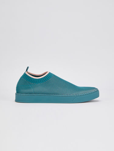 Oya trainers in bi-colour technical knit