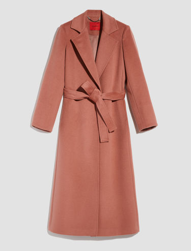 Mid-lenght wrap coat Long Run
