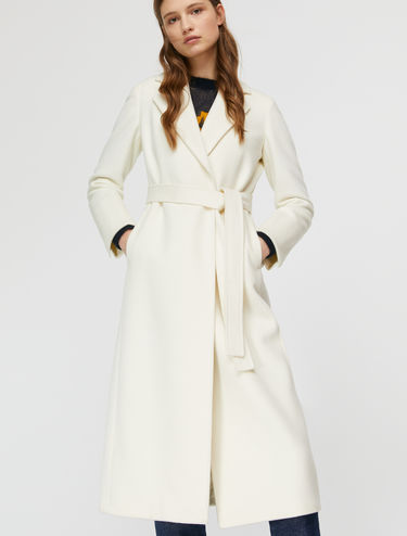 Mid-lenght wrap coat Pure Long