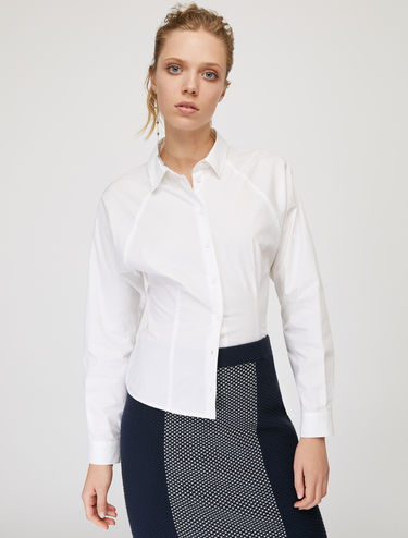 Slim-fit poplin shirt