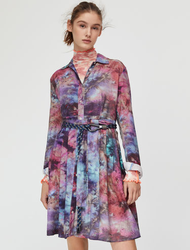 Sablé shirt-dress