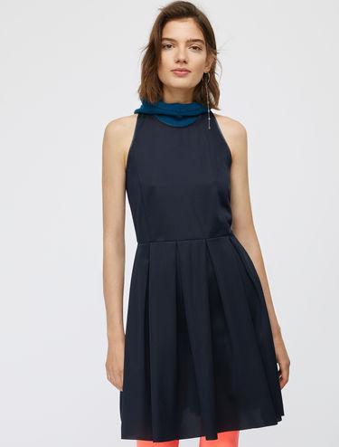 Technical mesh Corolla Dress