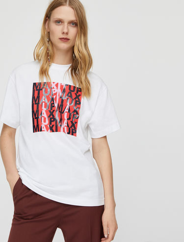 T-shirt con stampa MAX IT UP
