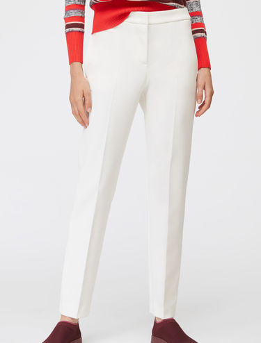 Tapered slim-fit trousers