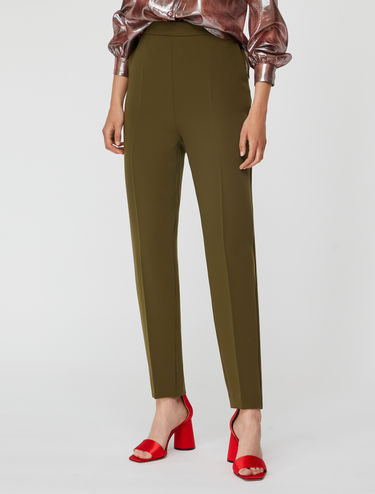 Tapered floaty trousers